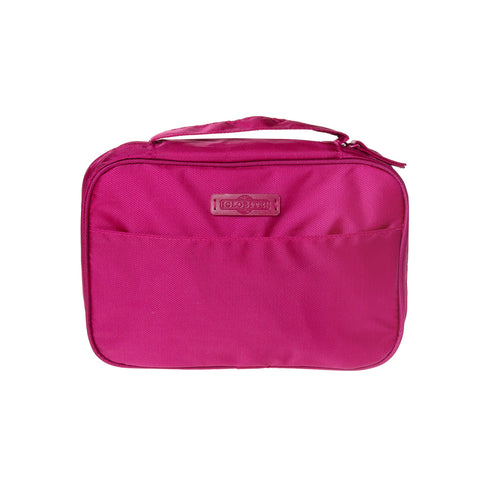 Womens Toiletries Bag - Pink (Carry-on) - globitetravel