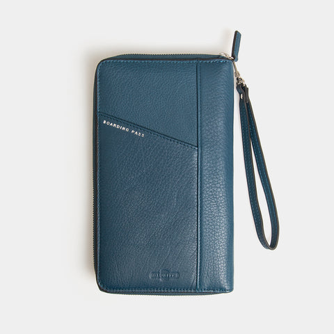 RFID Leather Portfolio Wallet - Wentworth Falls - globitetravel