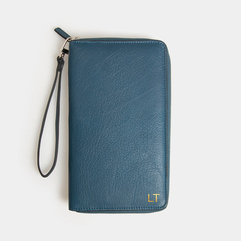 RFID Leather Travel Wallet - Wentworth Falls - globite