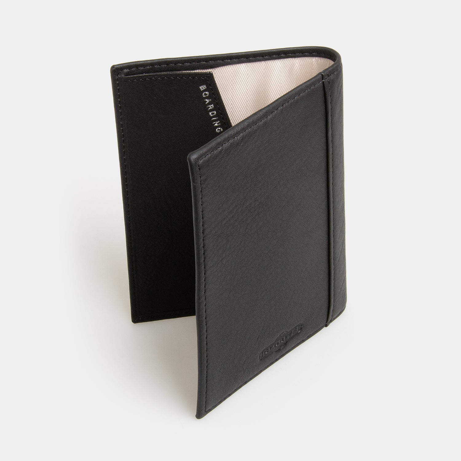 RFID Leather Passport Cover - Carbon Ink - globitetravel
