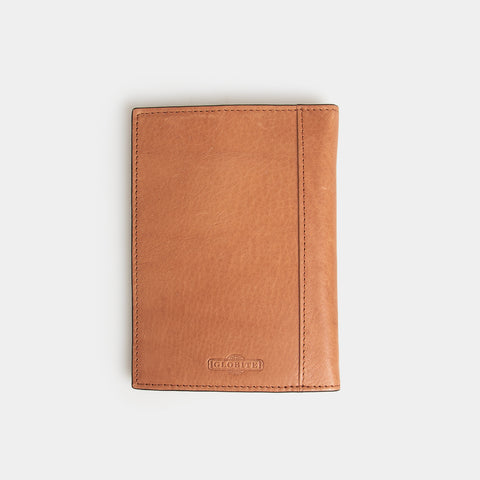RFID Leather Passport Cover - Flinders Tan - globite