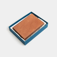 RFID Leather Passport Cover - Flinders Tan - globitetravel