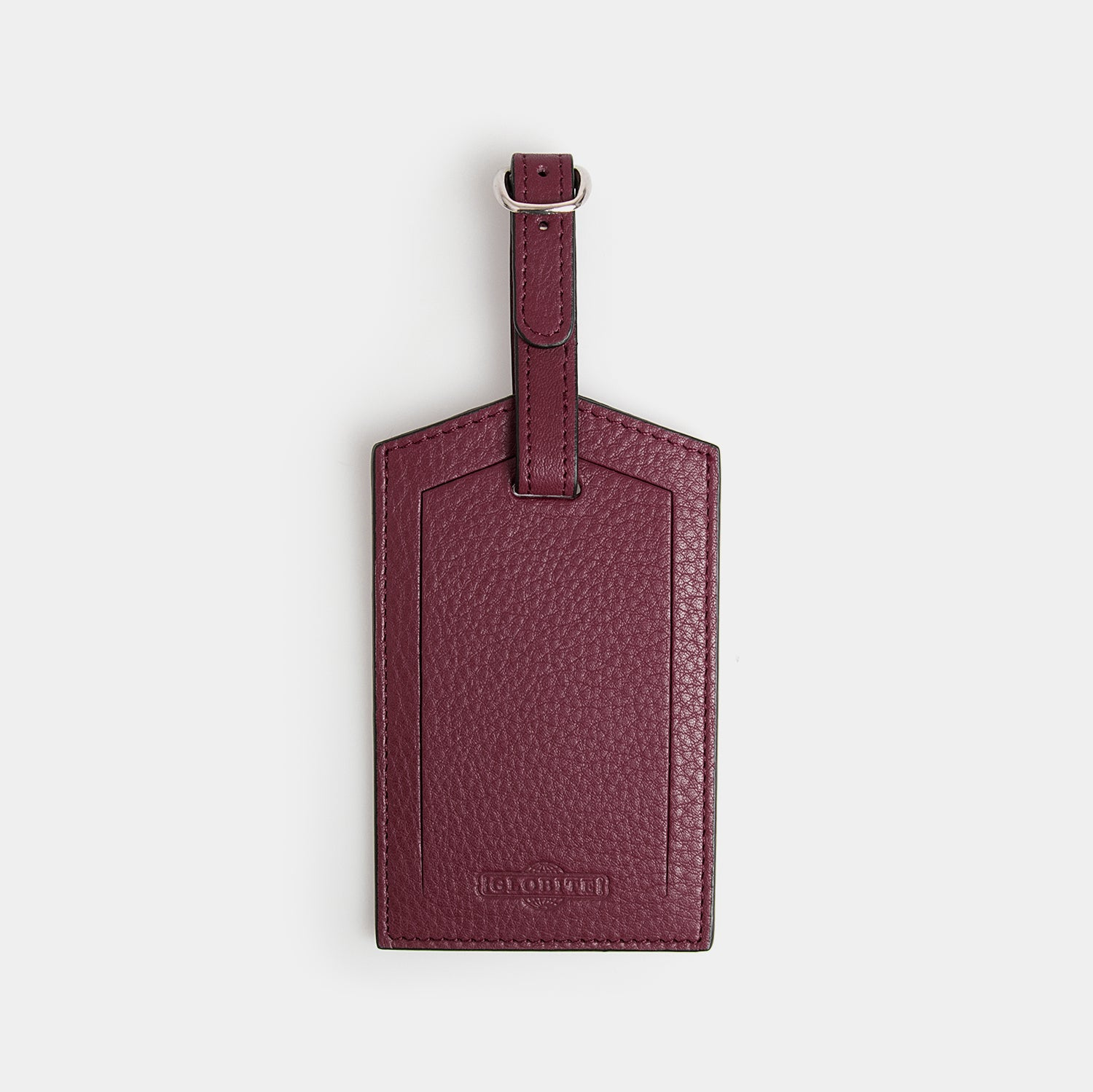 Leather Luggage Tag - Barossa Mulberry - globite