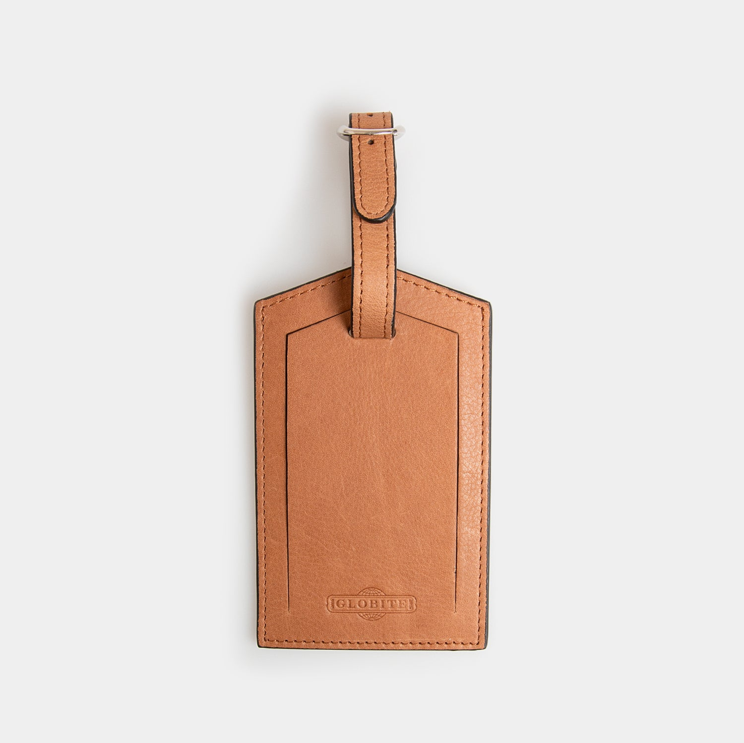 Leather Luggage Tag - Flinders Tan - globite