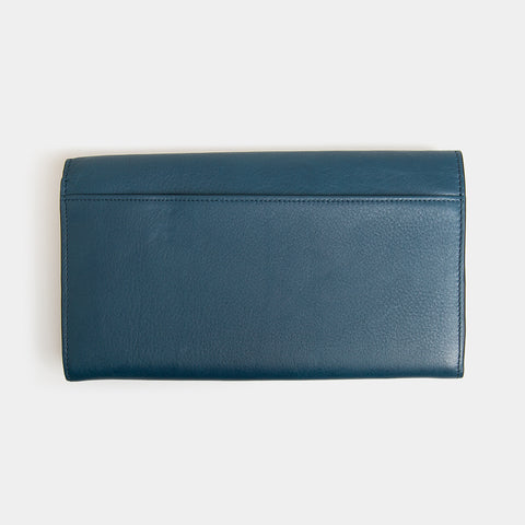 RFID Leather Travel Clutch - Wentworth Falls - globitetravel