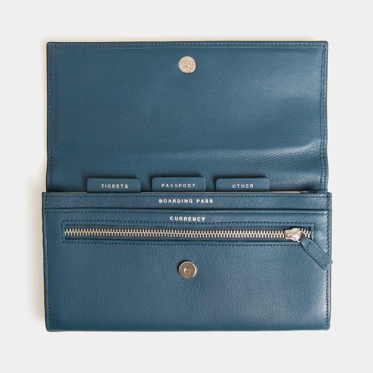 RFID Leather Travel Clutch - Wentworth Falls - globite