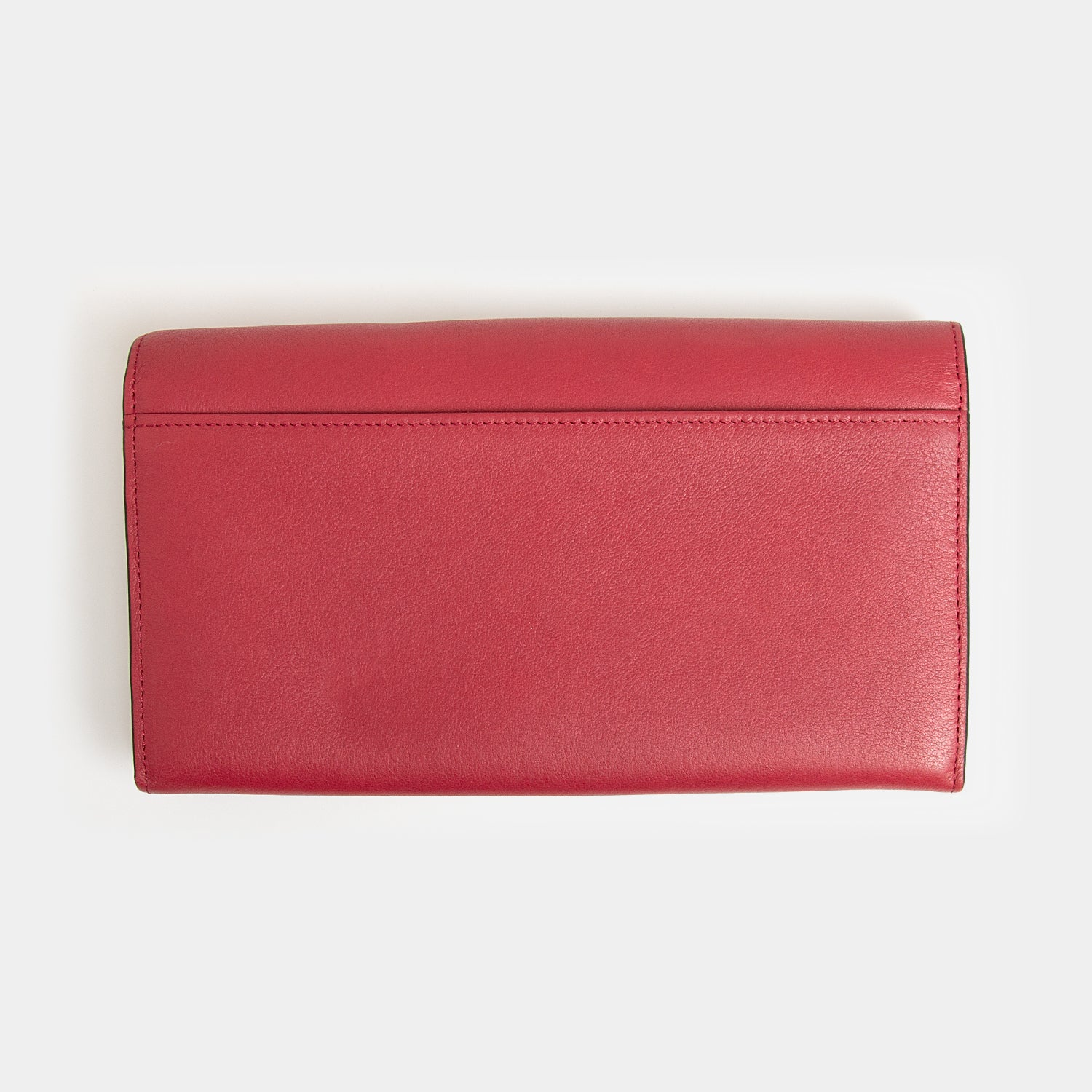 RFID Leather Travel Clutch - Desert Claret - globite