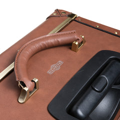 Carry-On Cabin Luggage - Brown - globitetravel