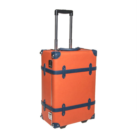 Carry-On Cabin Luggage - Orange / Navy