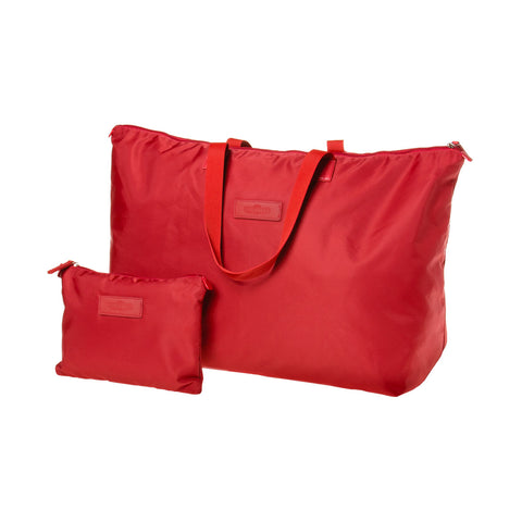 Stash & Dash Hold All Tote Bag - Red - globite