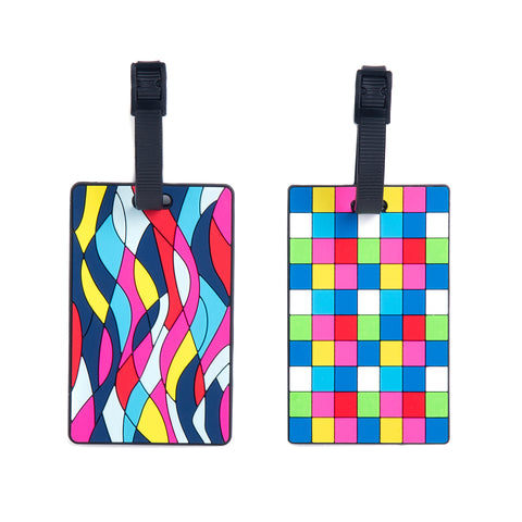 Silicone Luggage Tags 2pk - globite