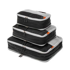 Double Sided Packing Cubes 3 Piece - Black - globite