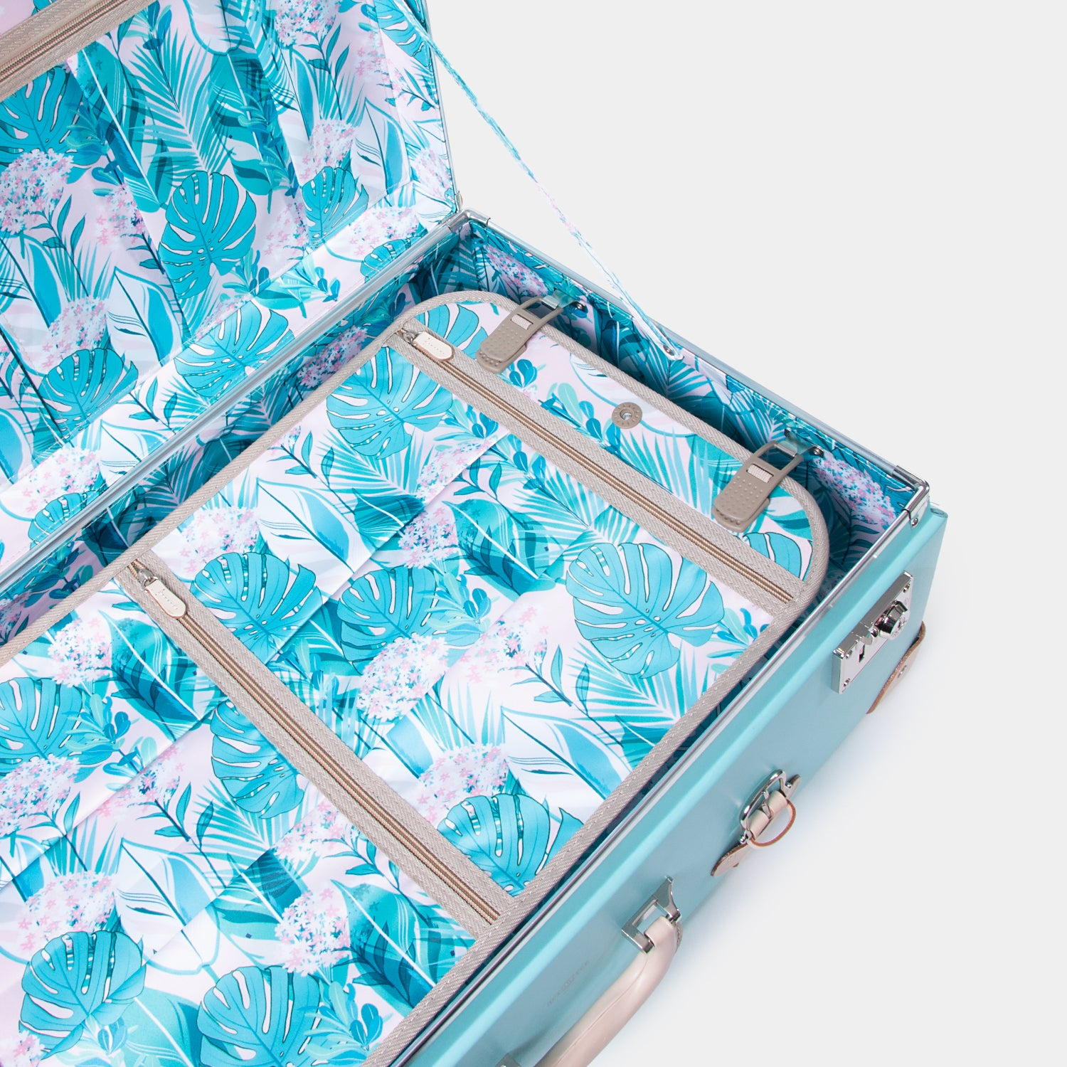 Heritage Check-In Luggage Case - Tropical Trek - globite