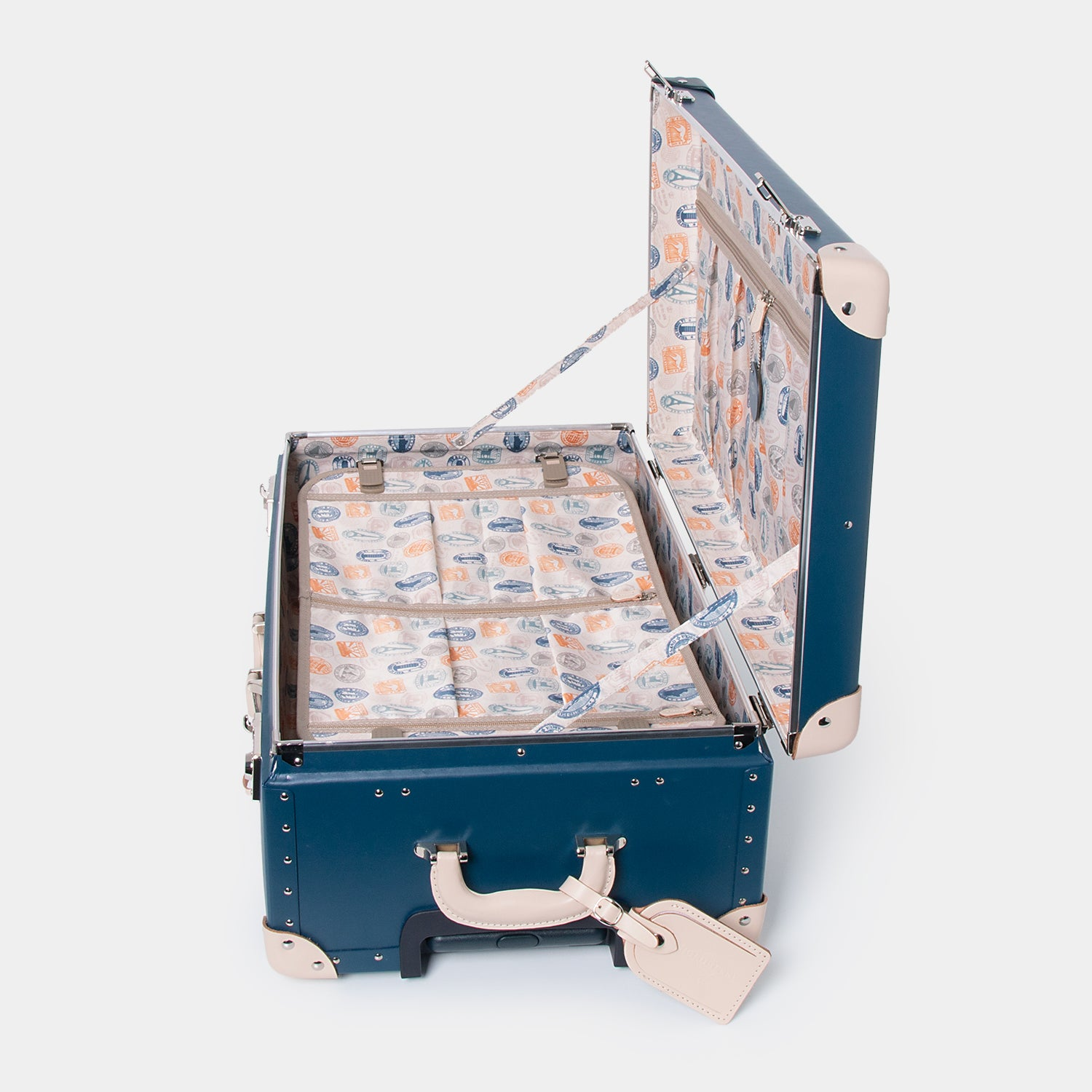 Heritage Check-In Luggage Case - Midnight Ink