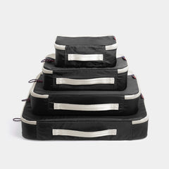 Packing Cubes 4 Piece Set - Black - globite