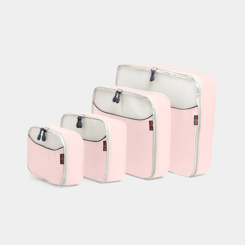 Packing Cubes 4 Piece Set - Dusty Pink - globite