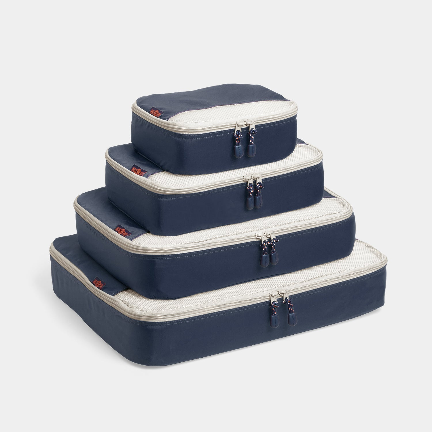 Packing Cubes 4 Piece Set - Navy - globite