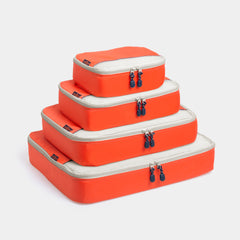 Packing Cubes 4 Piece Set - Orange - globite