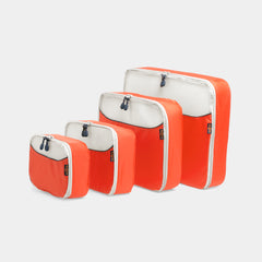 Packing Cube 4 Piece - Orange - globite