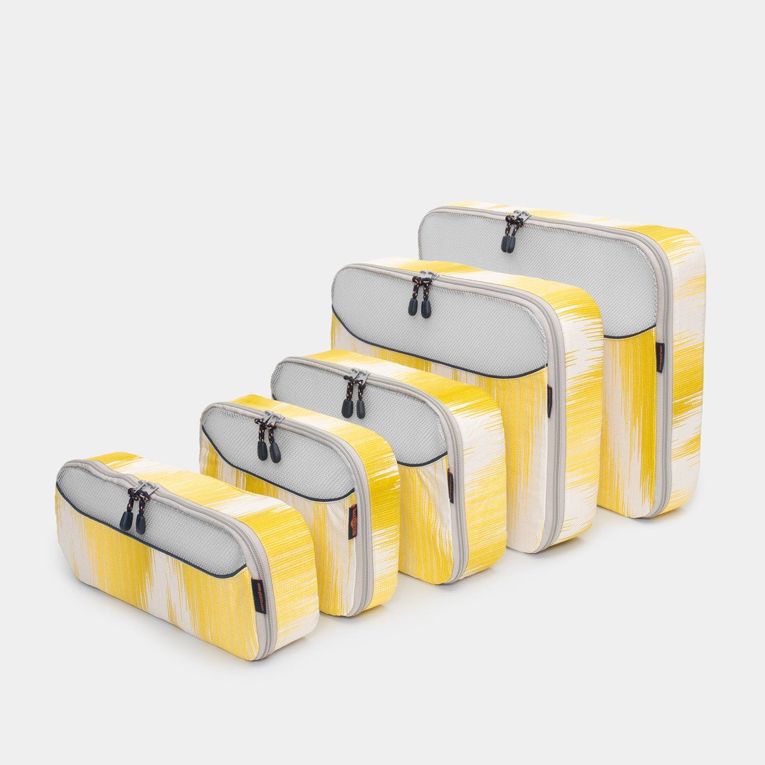 Packing Cubes 5 Piece Set - Limoncello - globite