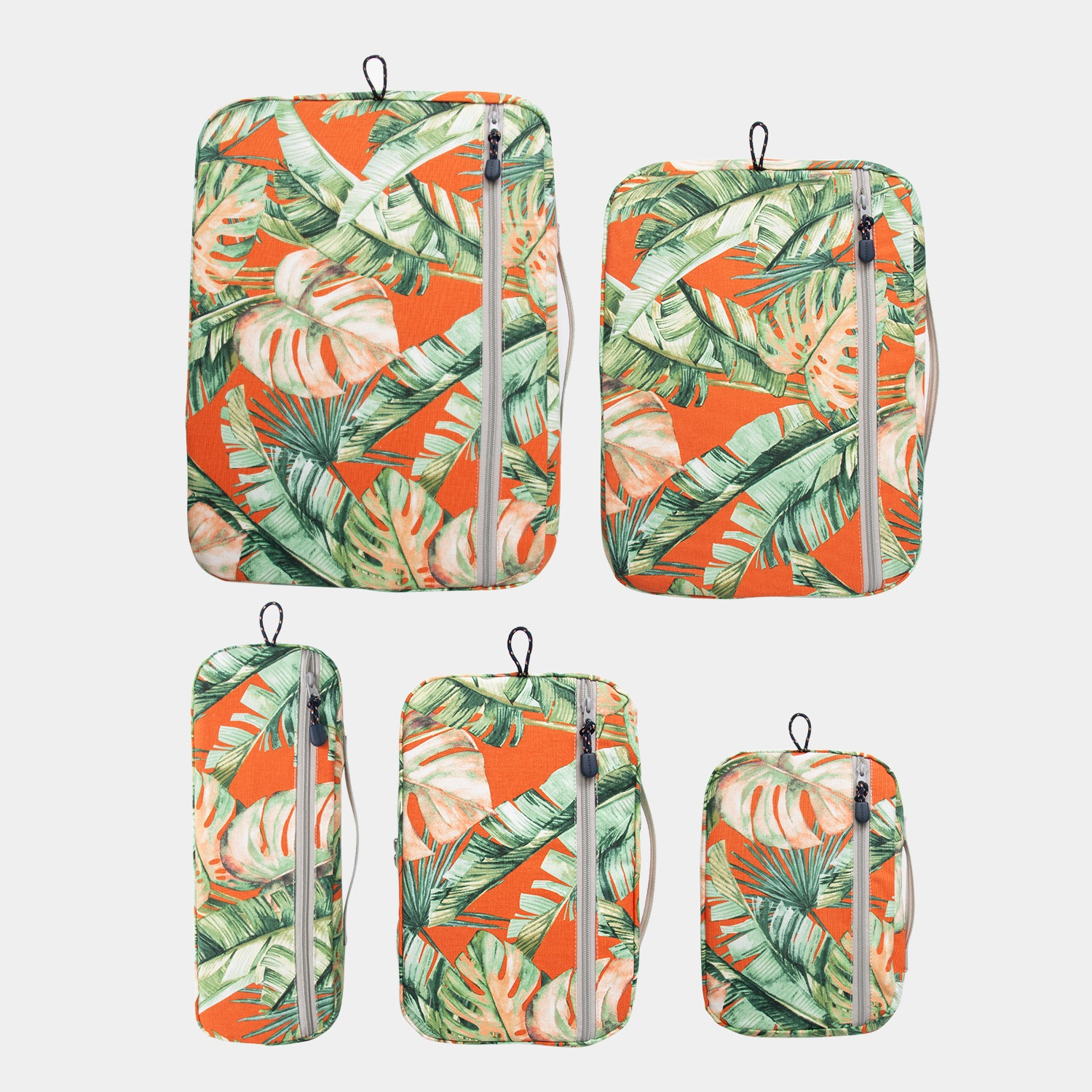 Packing Cubes 5 Piece Set - Tropical Sunset - globite