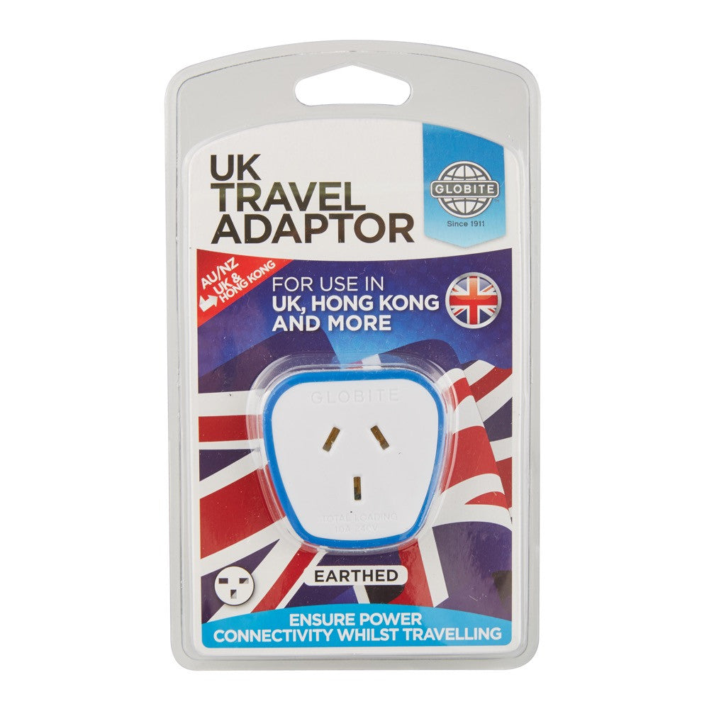 Outbound UK Travel Adaptor - globitetravel