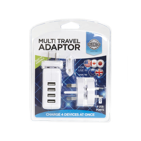 Multi Travel Adaptor - globite