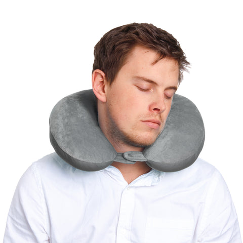 Explorer Neck Pillow - Grey - globitetravel
