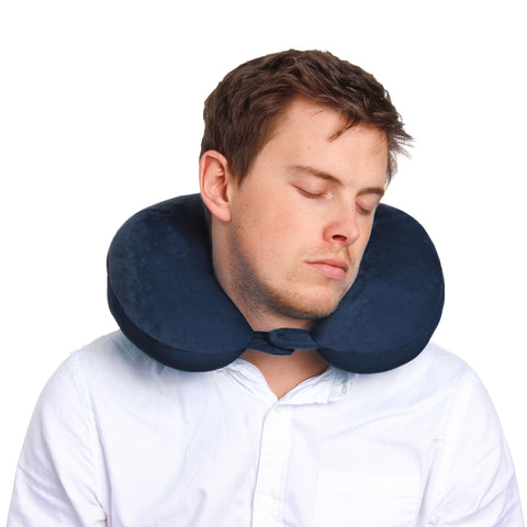 Explorer Neck Pillow - Navy - globitetravel