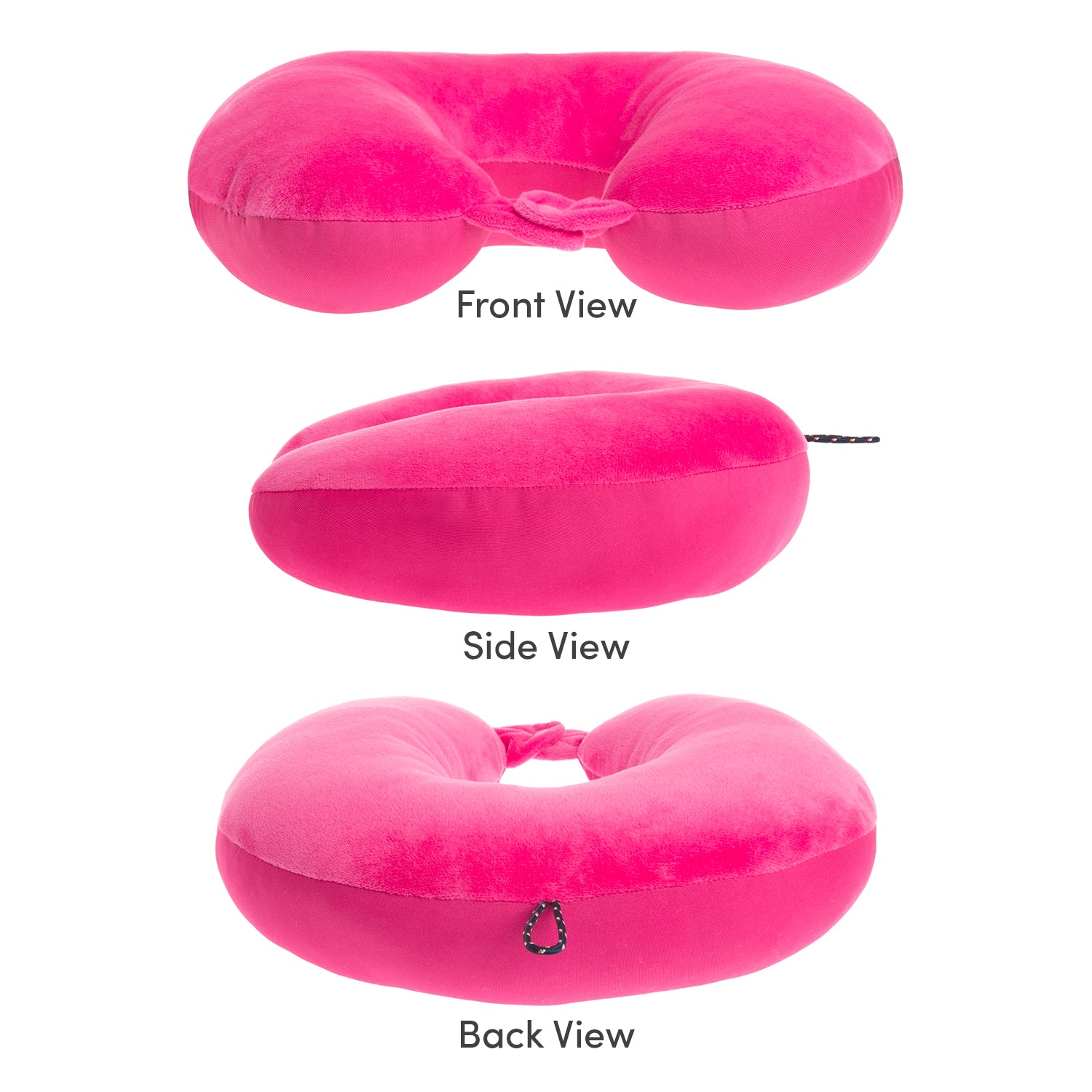 Explorer Travel Pillow - Pink - globite