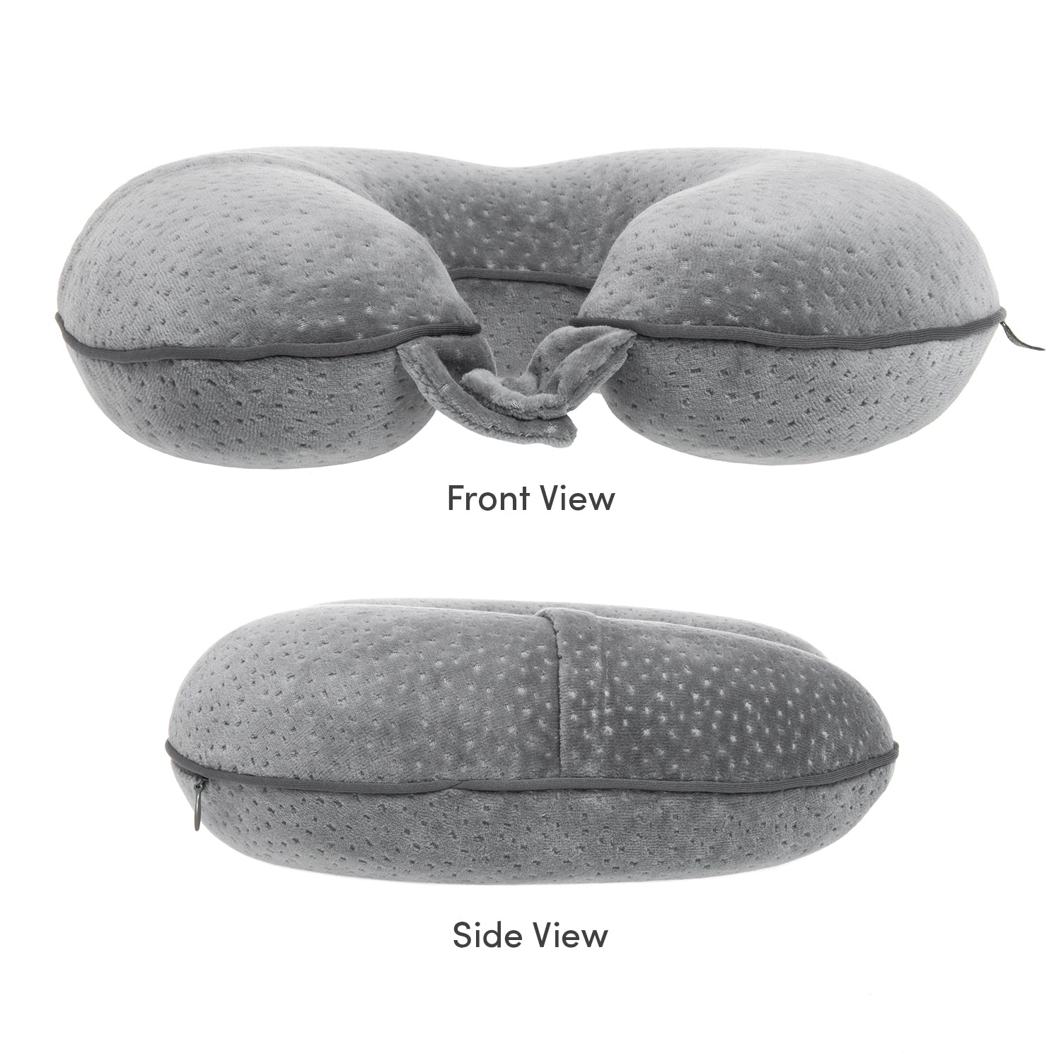 Voyager Neck Pillow - Grey - globitetravel