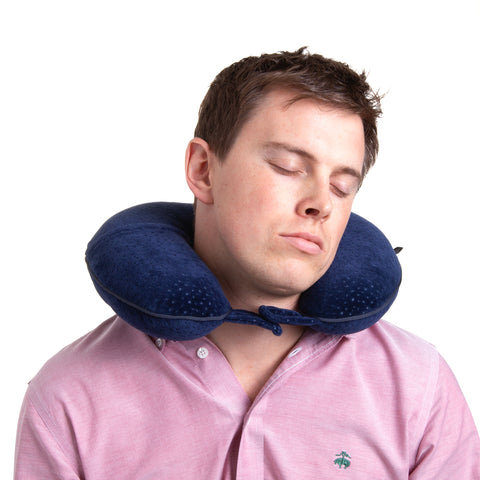 Voyager Neck Pillow - Navy - globite