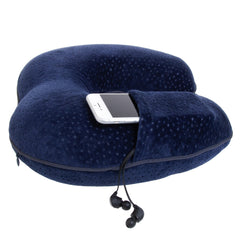 Voyager Travel Pillow - Navy - globite