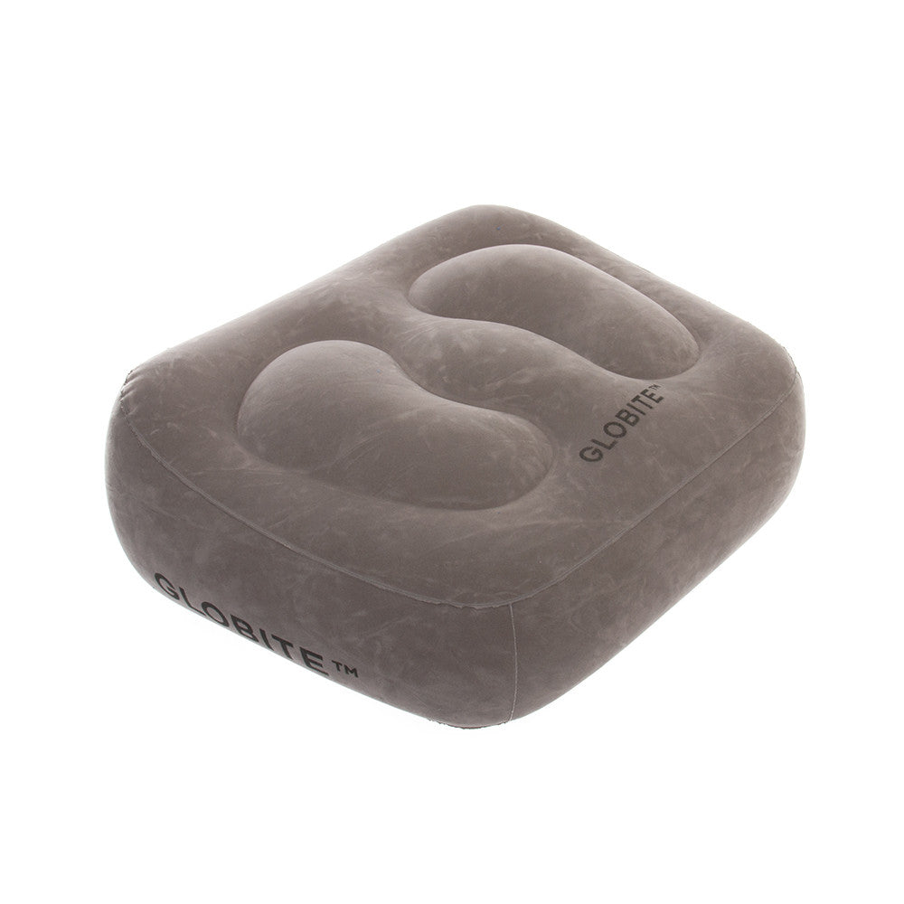 Inflatable Foot Rest-Grey - globitetravel