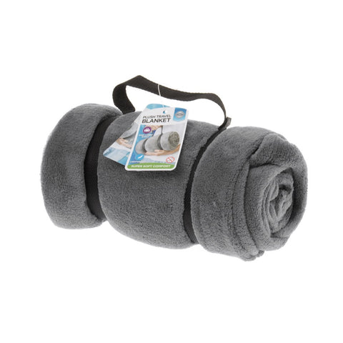 Travel Blanket-Grey - globitetravel
