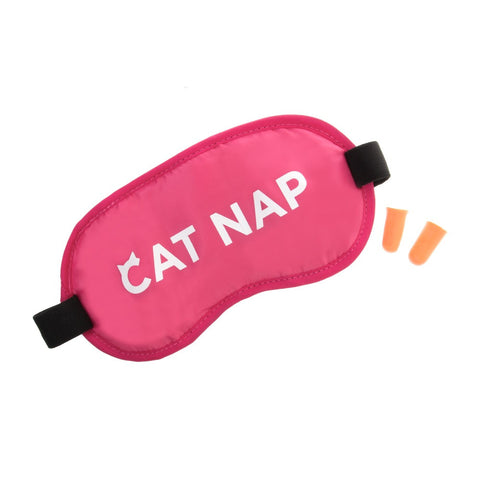 Novelty Eye Mask-Cat Nap - globitetravel