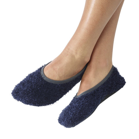 Comfy Non-Slip Slippers - Large / Navy - globitetravel