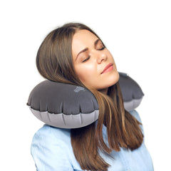 Quick Inflate Neck Pillow - globite