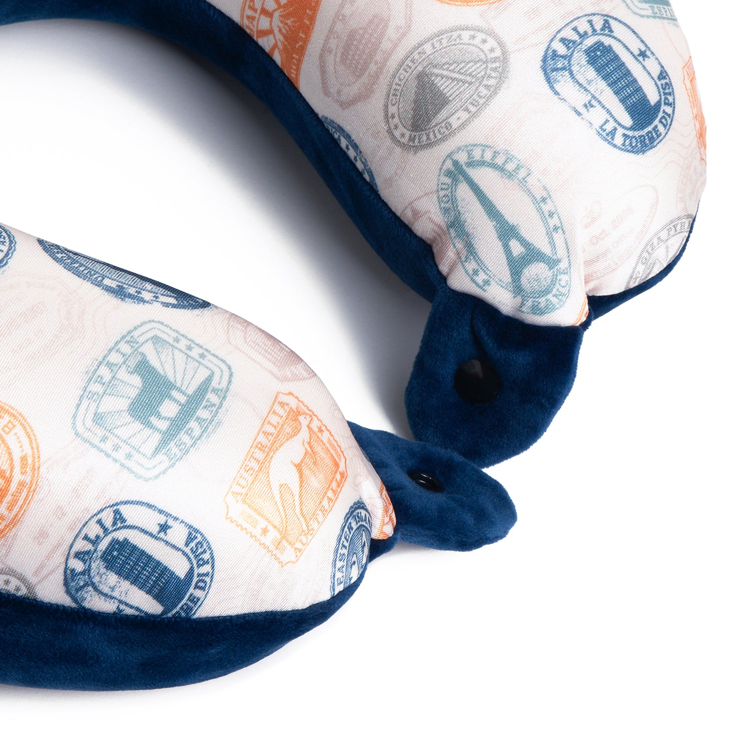 Travel Pillow & Eye Mask Set - Navy - globite