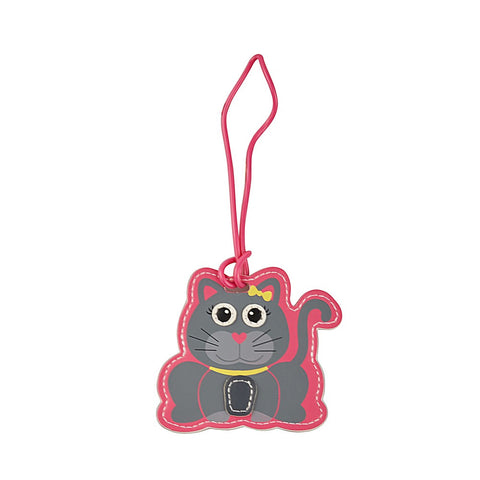 Kids Luggage Tag Cat - globitetravel