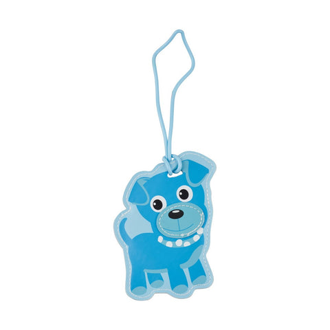 Kids Luggage Tag Dog - globitetravel