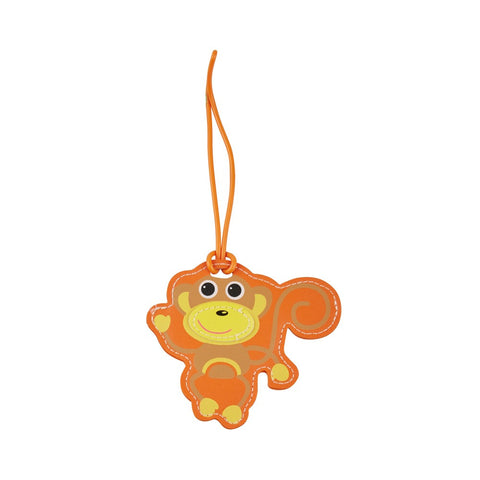 Kids Luggage Tag Monkey - globitetravel