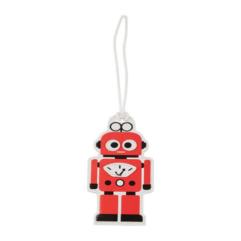 Kids Luggage Tag Robot - globitetravel