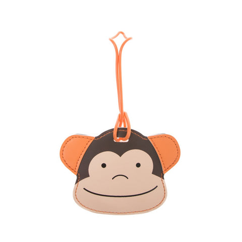 Kids Luggage Tag Monkey Small - globitetravel