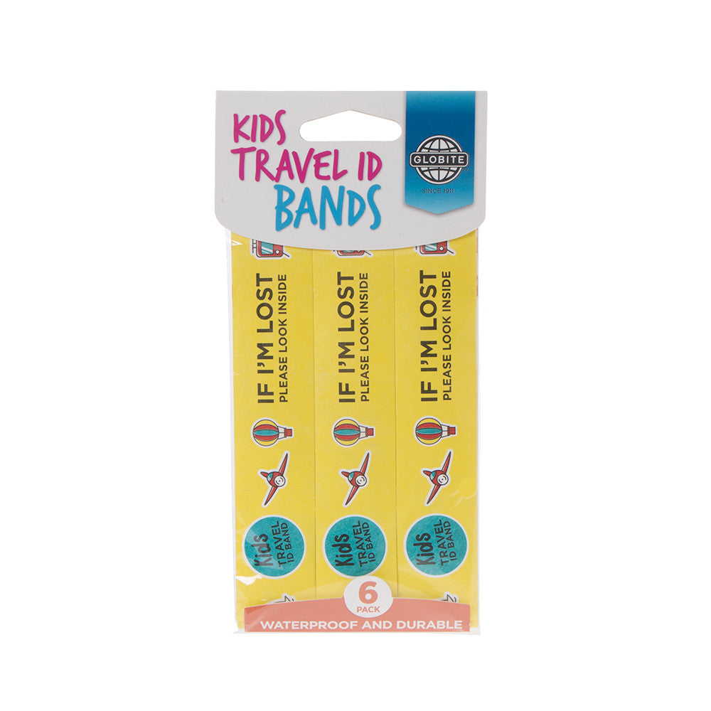 ID Wristbands For Kids - globitetravel