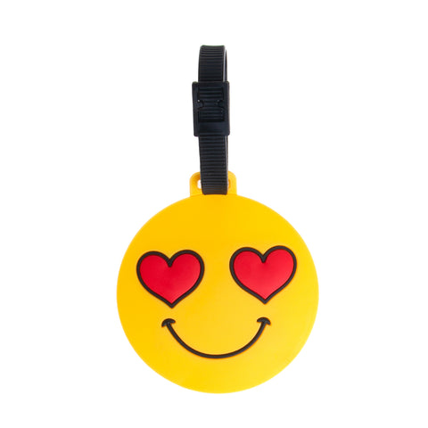 Icon Luggage Tags - Laugh Emoji - globite