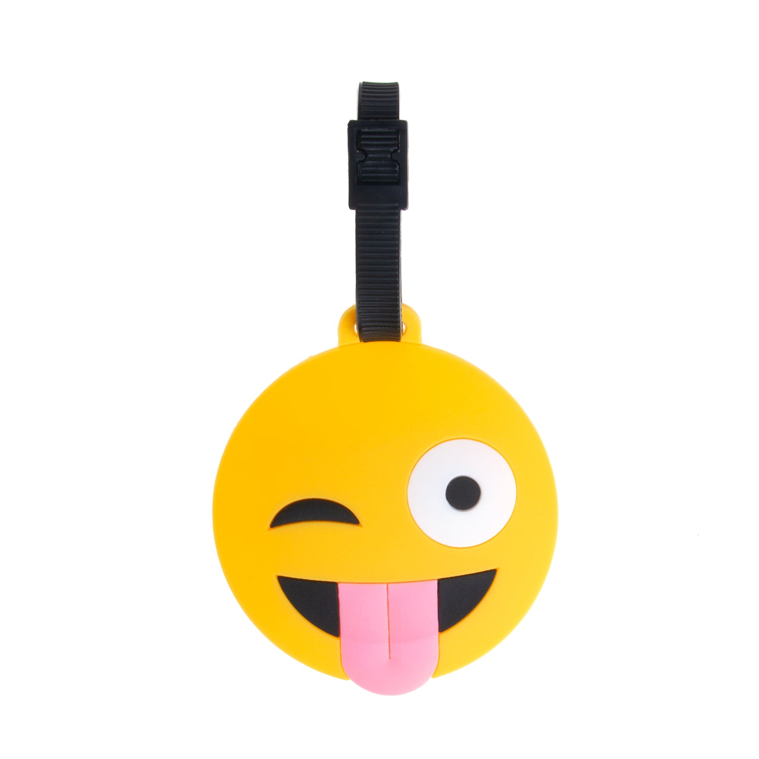 Icon Luggage Tags - Tongue Emoji - globite