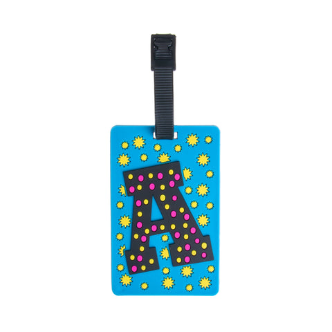 Letter Luggage Tags - A - globite