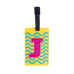 Letter Luggage Tags - J - globite