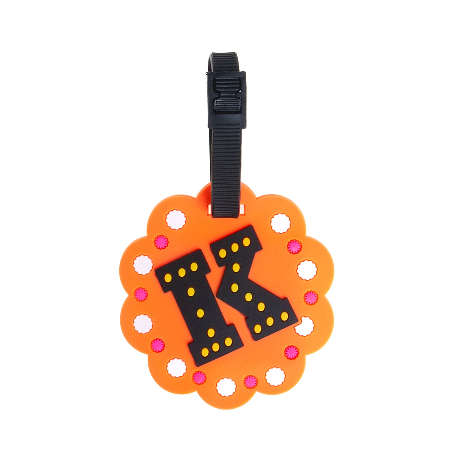 Letter Luggage Tags - K - globite